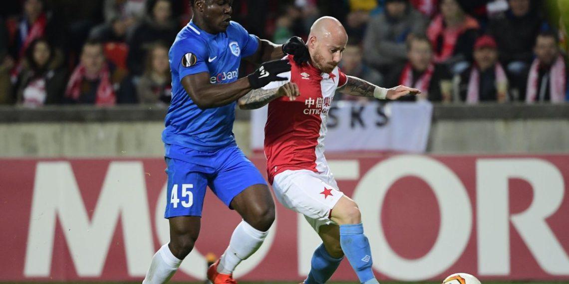 Ghanaian pair Aidoo, Painstil shine in Genk's goalless draw against Slavia Prague in Europa League