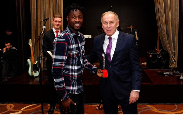Boakye wins Red Star Belgrade 2017 player of the year