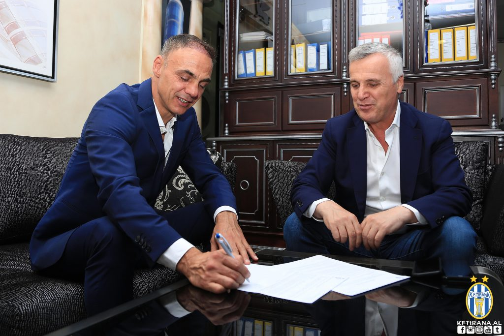 Ardian Mema signs a one -year deal with KF Tiaina