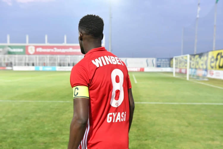 Bulgarian side CSKA Sofia plan to offload Ghana international Edwin Gyasi if right offer comes in
