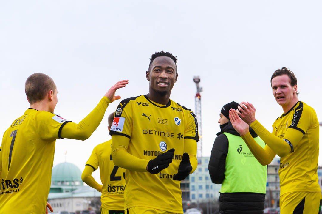 Ghanaian forward Sadat Karim hails players for Halmstad BK win over Trelleborg