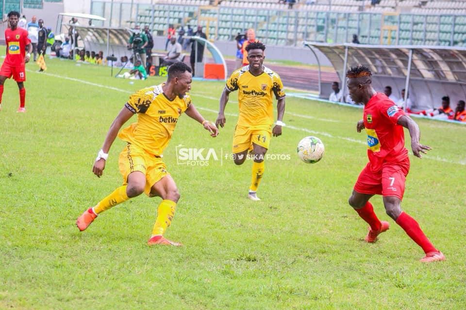"It Would Be An Honour To Play For Kotoko"", Says Ashantigold Midfield Gem Latif Anabila | SportsWorldGhana"