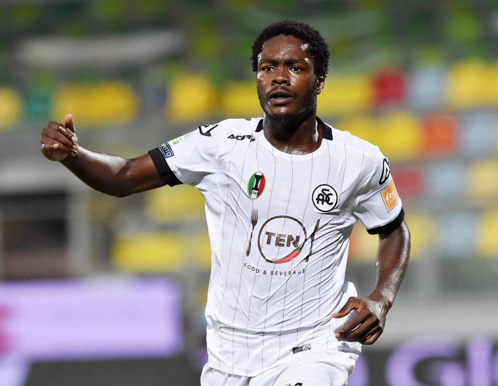 Spezia forward Emmanuel Gyasi earns maiden Black Stars call up for AFCON qualifiers - Reports